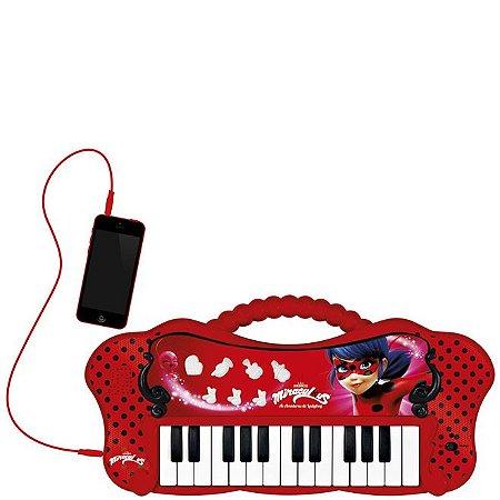 Teclado Infantil Miraculous Ladybug 8107-7 Fun
