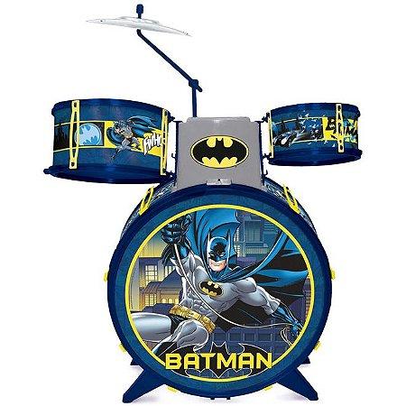 Bateria Infantil Batman Cavaleiro das Trevas 8080-4 Fun