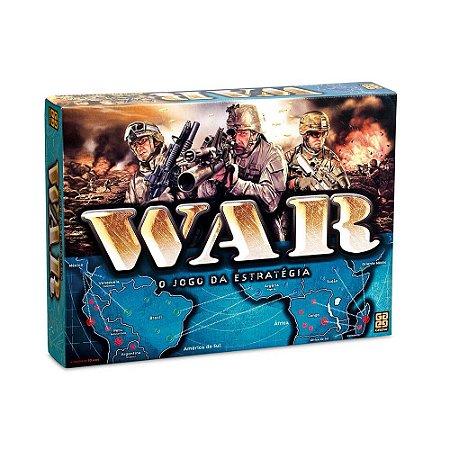 Jogo Tabuleiro War Clássico Estratégia Ref 2000 - Grow