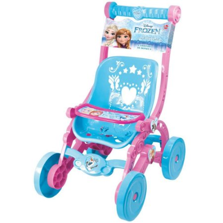 Carrinho de Boneca Princesa Disney Frozen Ref 2392 - Lider