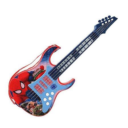 Guitarra infantil Eletrônica Homem Aranha 8176-3