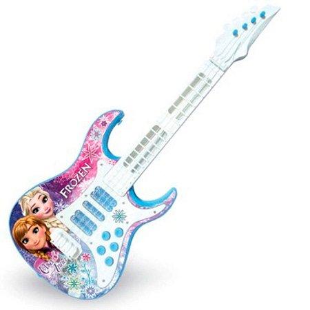 Guitarra infantil Eletrônica Princesa Frozen 8033-7