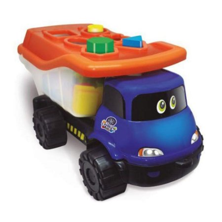 Caminhão Infantil Brinquedo de Encaixe Big Truck Formas