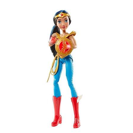 Boneca Mulher Maravilha Dc Super Hero Girls Wonder Woman DTR14