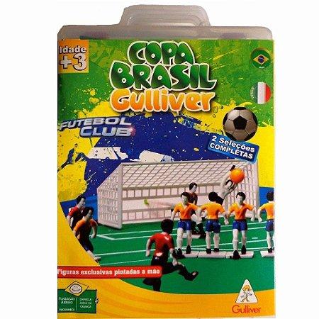 Futebol Club 2 Seleções Completas Copa Brasil x Itália - Gulliver