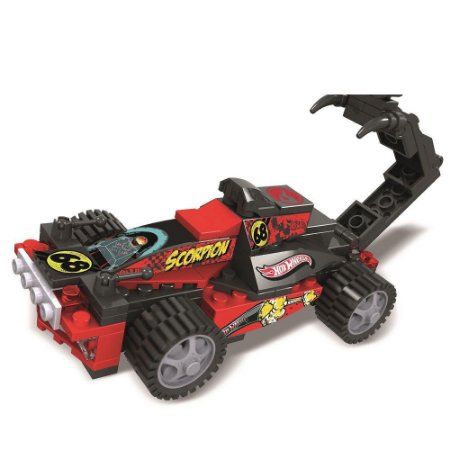 Carrinho Hot Wheels Blocos de Montar Racer - Scorpion 8109-6