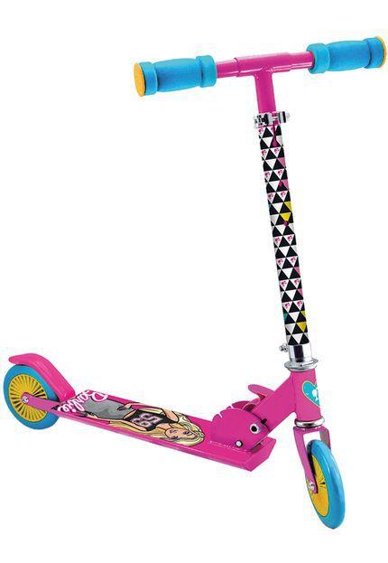 Patinete Fabuloso Barbie Infantil Feminino - 6924-0