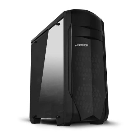 Gabinete Gamer 3 Baias Internas Warrior GA155 - Multilaser