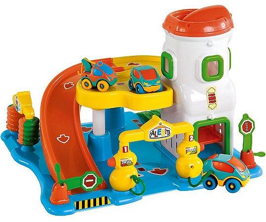 Lava Rápido Car Center Posto De Gasolina Infantil - Calesita