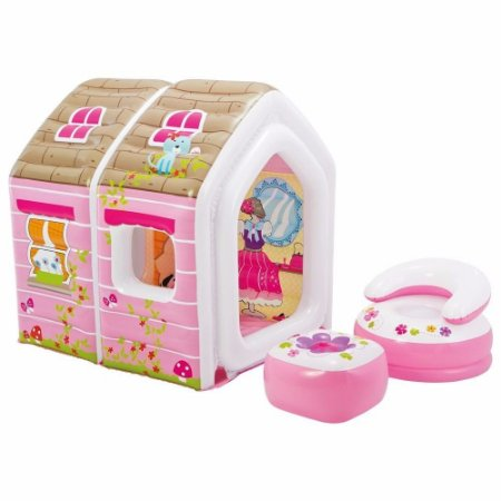 Casinha Infantil Inflável Princesa Barraca Toca 8149-3 Intex