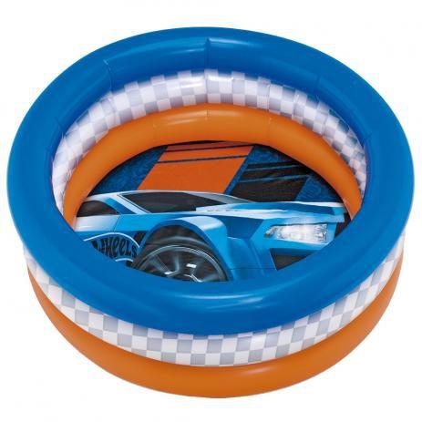 Piscina Infantil Inflável Carro Hotwheels 68L 8096-0 Fun
