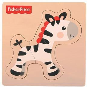 Meu Primeiro Quebra Cabeça Animal Zebra 7736-2 Fisher Price