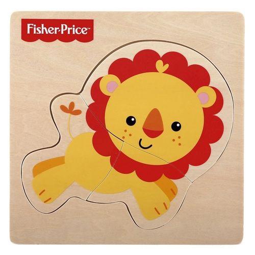 Meu Primeiro Quebra Cabeça Animal Leão 7736-2 Fisher Price