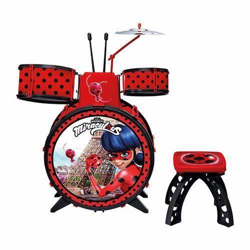 Bateria Infantil Ladybug Miraculous 8107-8 Fun