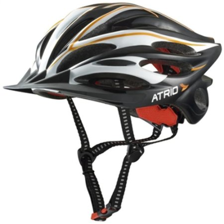 Capacete M Com Led Bike Bicicleta Multilaser Inmold - Preto