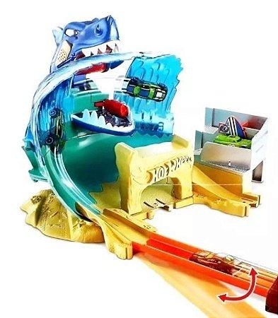 Pista de Carrinhos Hot Wheels City Ataque Tubarão FNB21 Mattel