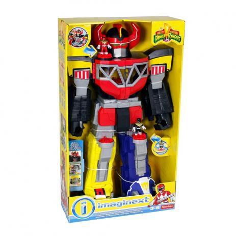 Power Rangers Megazord Imaginext 70cm Fisher Price Chj18