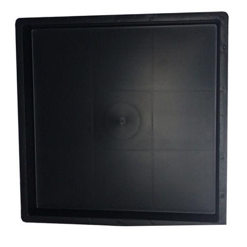 Forma Quadrada Lisa Para Fabricar Piso 20x20x1,5 cm - FP099