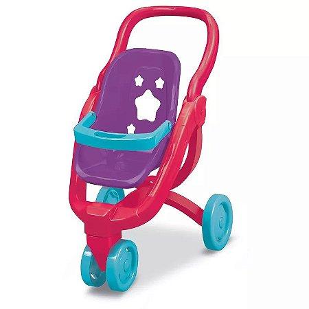 Carrinho de Bonecas Bebê Conforto Little Mommy 2 em 1 Fun