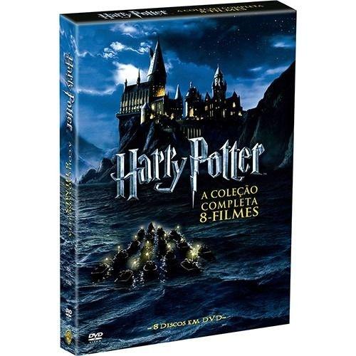 Box Harry Potter Coleção Saga Completa DVD (8 Filmes)