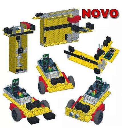 Kit De Robótica Educacional Com 12 Projetos M16 - Modelix - 858