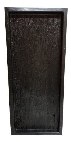 Forma Piso Madeira Demolição Cimenticio Tabua Deck 50x20cm ABS 1mm