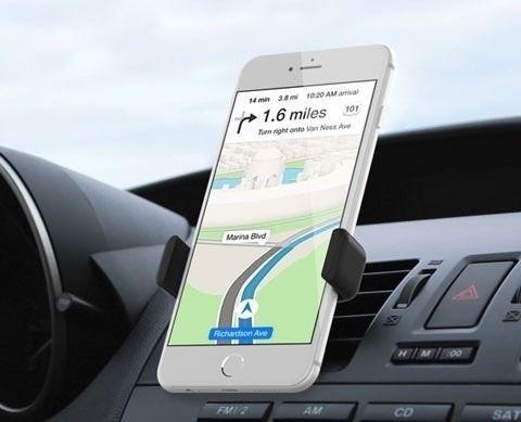 Suporte Veicular Ar Condicionado Universal Celular Iphone S4