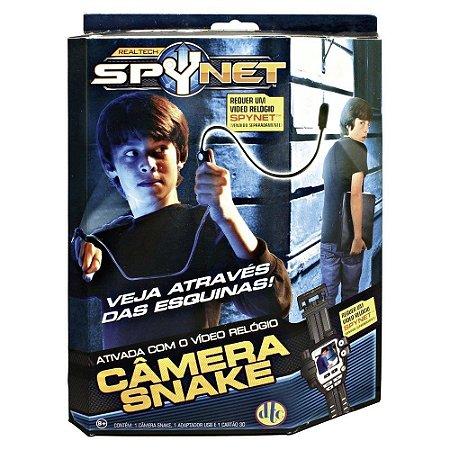 Câmera Snake Para Video Relógio Spynet Espião Detetive