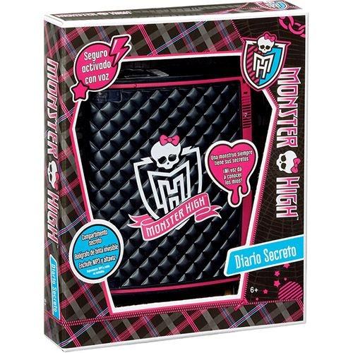 Diário Eletrônico Secreto Monster High BBR25 -Mattel