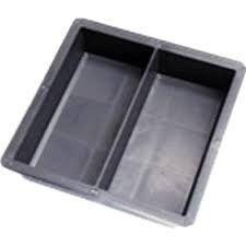 Forma Plástica Dupla Geminada Tijolinho Intertravado para Piso Peyver 20x10x6 FP016