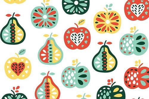 Papel de Parede Adesivo Frutas Cozinha