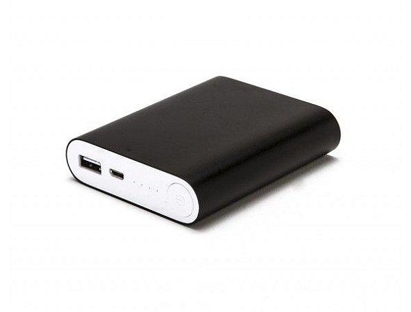 Power Bank Carregador Usb Celular Portátil E35 Preto 10400mAh