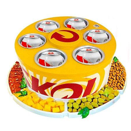 Cooler 3g-latas Skol + Petisqueira Rotativa doctor Cooler