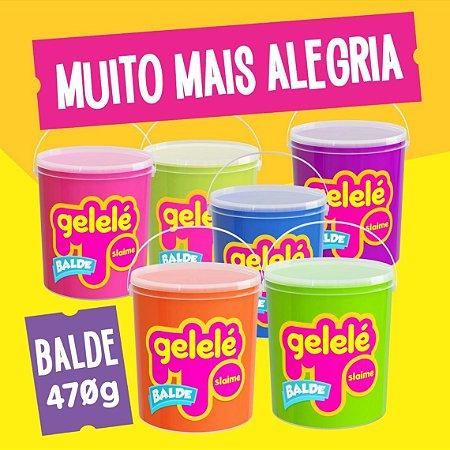 Slime Gelelé Color Balde 470g - Doce Brinquedo