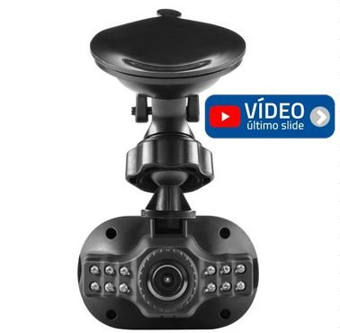 Câmera Veicular Multilaser FULL HD
