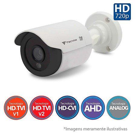 Câmera Infravermelho Tecvoz 5x1 Flex HD CCB-128P