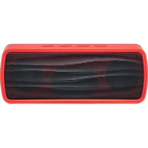 Caixa de Som Portatil Portable Bluetooth Stereo Speaker - Red