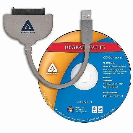 "Cabo SATA Wire 3.0 - USB 3.0 Interface para HD ou SSD 2.5"""