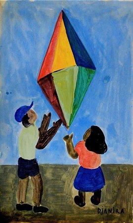 Soltando o Balão - Djanira (SP) - GUSC - CM - Ass.CID - (Com Certificado de Autenticidade)
