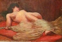 Nu do Mestre - Yvonne Visconti (FR) - OLST - 046x066 cm. - CM - CID (década de 50)