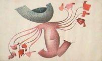 Os Dependentes - Fernando Coelho (BA) - Desenho Técnica Mista s/Papel - 044x070cm.