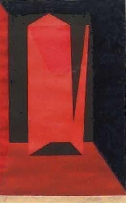 Contrastante 1/4 - Scliar (RS) - Serigrafia s/Papel - 058x036cm.