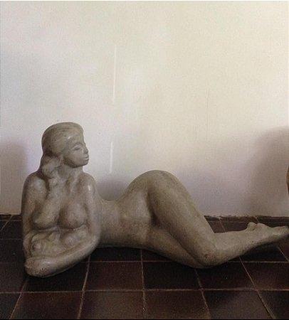 Mulher c frutas - Abelardo da hora