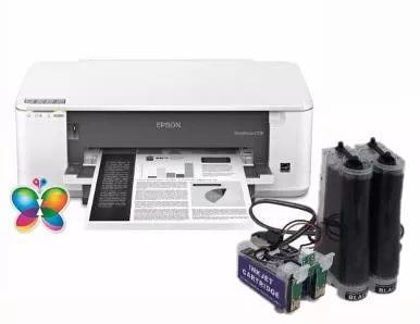 Bulk Ink Epson K101 K301 Mono Kit Limpeza Tinta Inktec