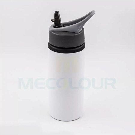 10 Squeeze Branco Resinado Com Bico Sublimação Mecolour