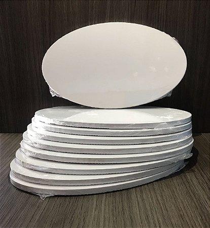 50 Azulejos Branco Oval Resinado Para Sublimação Mecolour