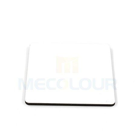 5 Mouse Pad Retangular Branco Resinado Sublimação Mecolour