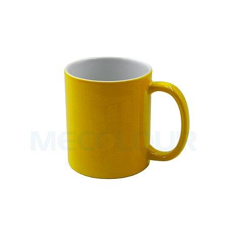 180 Canecas Neon Amarela Resinada P/ Sublimação AAA Mecolour
