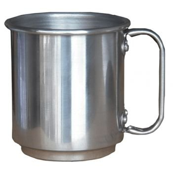 6 Canecas de Alumínio Resinadas Para Sublimação 400ml Alta Qualidade