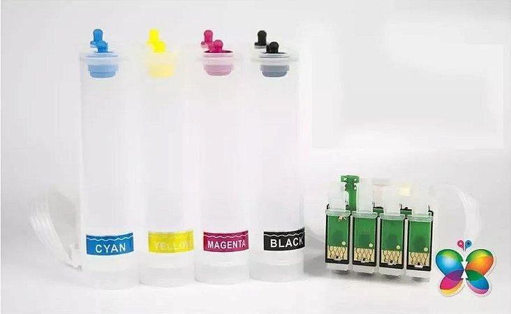 Bulk Ink Epson Tx620 Tx560 T42w Tx720 P/ Técnico